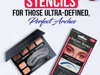 11 Best Eyebrow Stencils For Those Ultra-Defined, Perfect Arches
