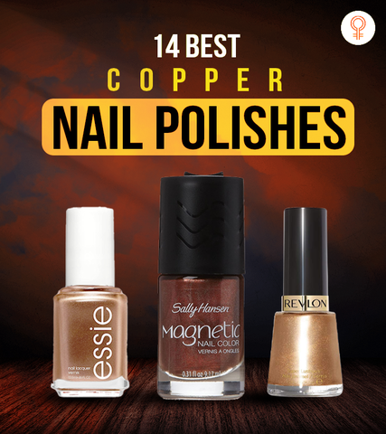 14 Best Copper Nail Polishes You Can Try In 2021