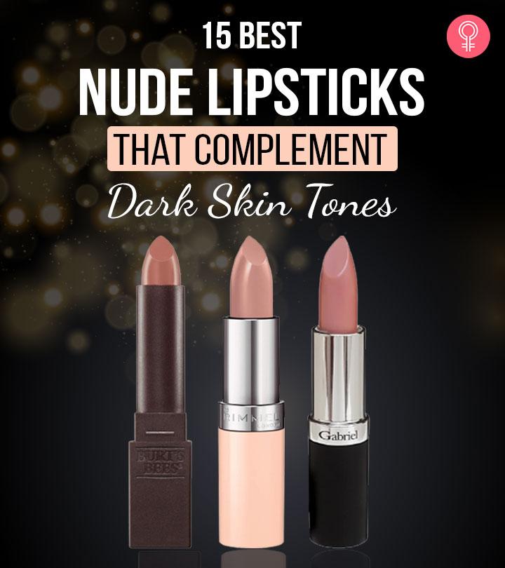 15 Best Nude Lipsticks That Complement Dark Skin Tones