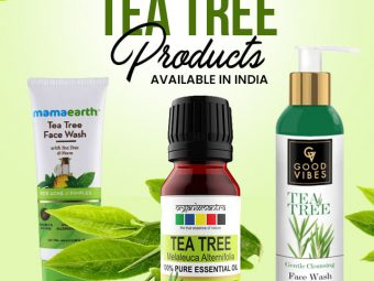 15 Best Tea Tree Products Available In India – 2021