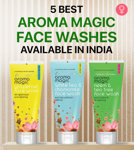 5 Best Aroma Magic Face Washes Available In India – 2021