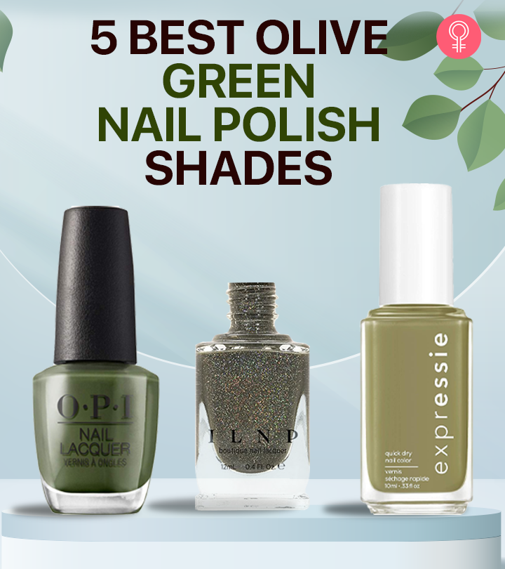 5 Best Olive Green Nail Polish Shades For 2021