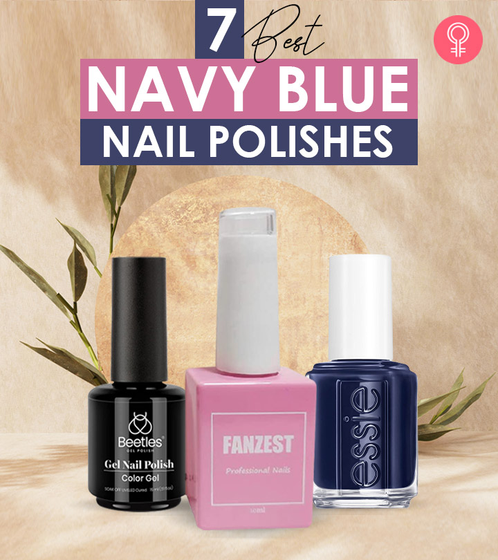 7 Best Navy Blue Nail Polishes For 2021