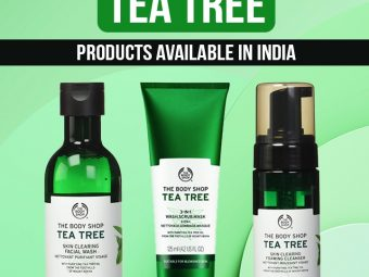 9 Best Body Shop Tea Tree Products Available In India That You Must Try In 2021