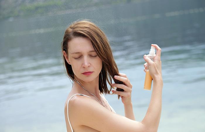 Australian Women Use An Ample Amount Of Hair Sunscreen