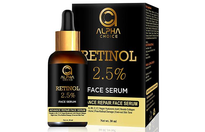 Alpha Choice Retinol 2.5% Face Serum