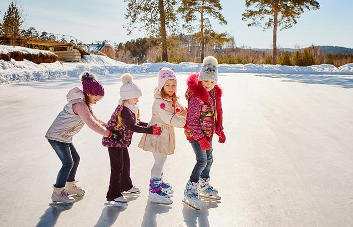 Ice Skating Theme