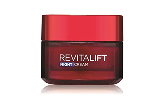 Best Anti-Aging Night Cream L'Oreal Paris Revitalift Moisturizing Night Cream