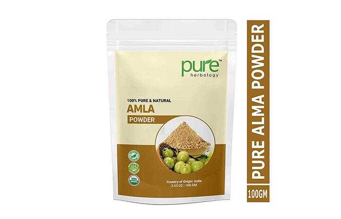 Best Anti-Frizz - Pure Herbology Amla Powder