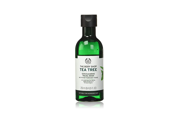 Best Antibacterial Face Wash The Body Shop Tea Tree Skin Cleaning Facial Wash