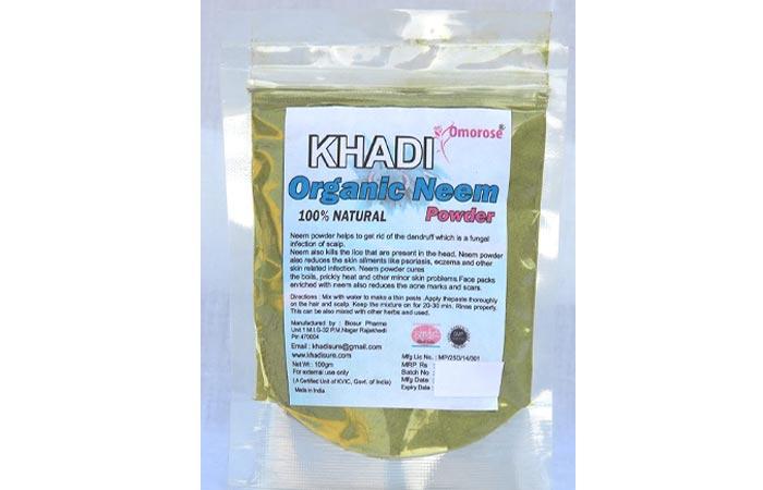 Best-Budget-Friendly-Khadi-Omrose-Organic-Neem-Powder