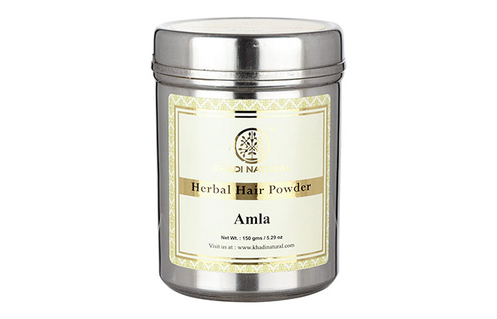 Best Complete Hair Health - Khadi Natural Organic Amla Powder