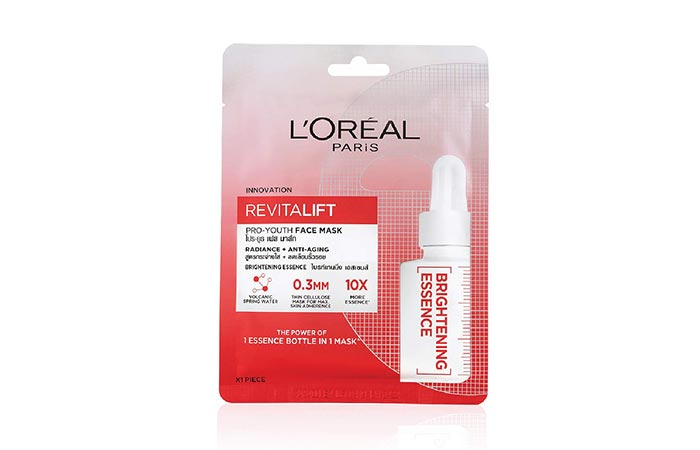 Best For Aging Control L'Oreal Paris Revitalift Pro-Youth Face Mask