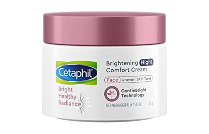 Best For Dark Spots Cetaphil Bright Healthy Radiance Brightening Night Comfort Cream