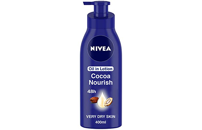 Best For Extremely Dry Skin Nivea Oil in Lotion Cocoa Nourish