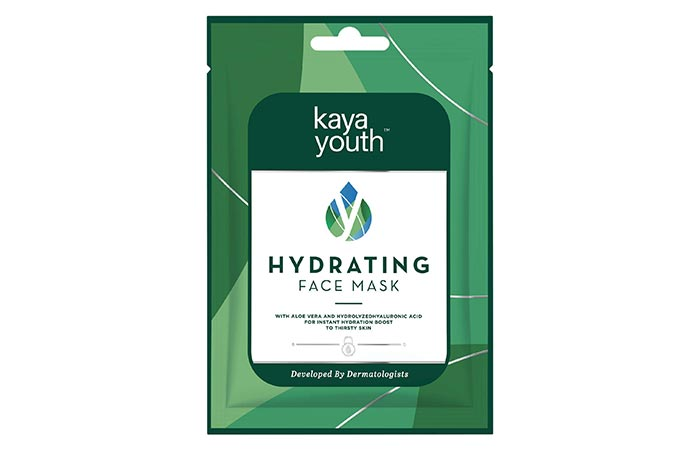Best For Instant Hydration Kaya Youth Hydrating Face Mask