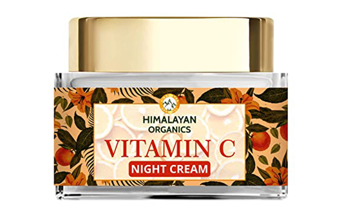 Best For Skin Brightening Himalayan Organics Vitamin C Night Cream