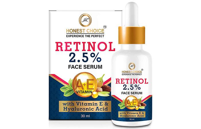 Best For Under-Eye Bags Honest Choice Retinol 2.5%Face Serum