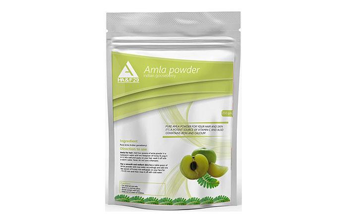 Best Natural Hair-Colorant - HA&F29 Amla Powder