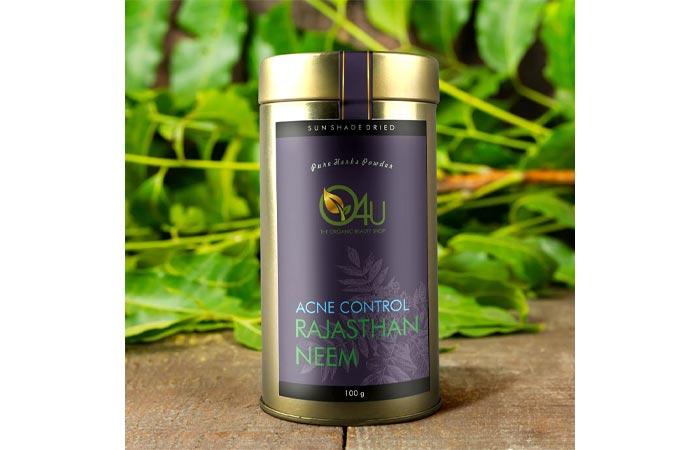 Best-Organic-O4U-Acne-Control-Rajasthan-Neem-Powder