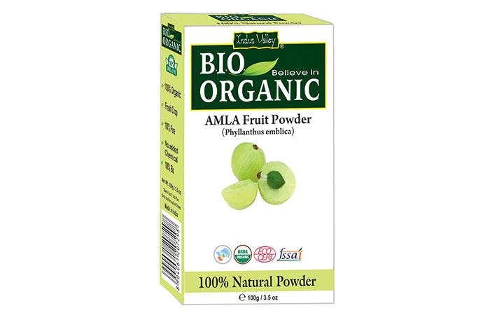 Best Overall - Indus Valley Bio Organic Amla Fruit Powder