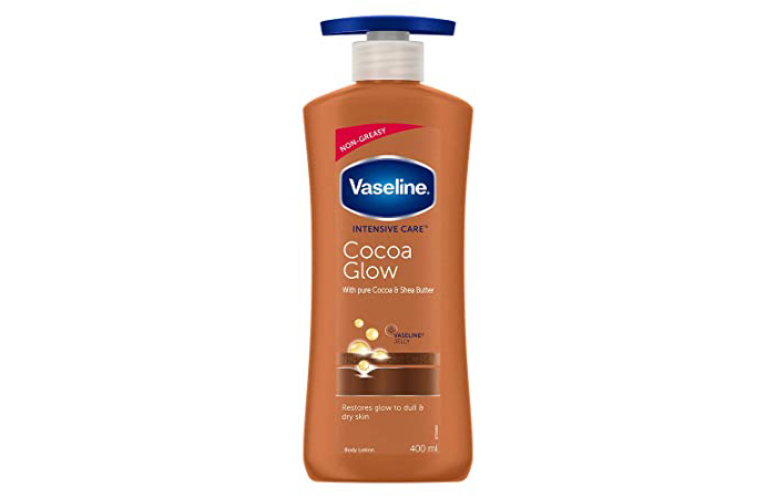 Best Overall Vaseline Intensive Care Cocoa Glow