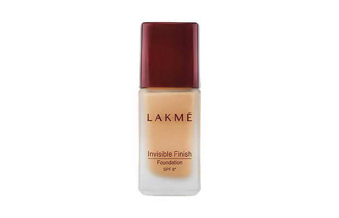 Best Sheer Coverage Lakmé Invisible Finish Foundation