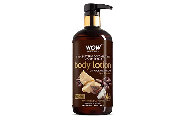 Best Vegan Formula Wow Shea Butter & Cocoa Butter Moisturizing Body Lotion