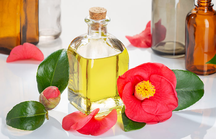 Camellia Oil Is A Popular Hair Care Staple Among Japanese Women