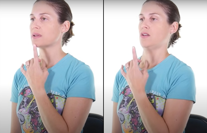 Chin Tuck For Forward Head Posture