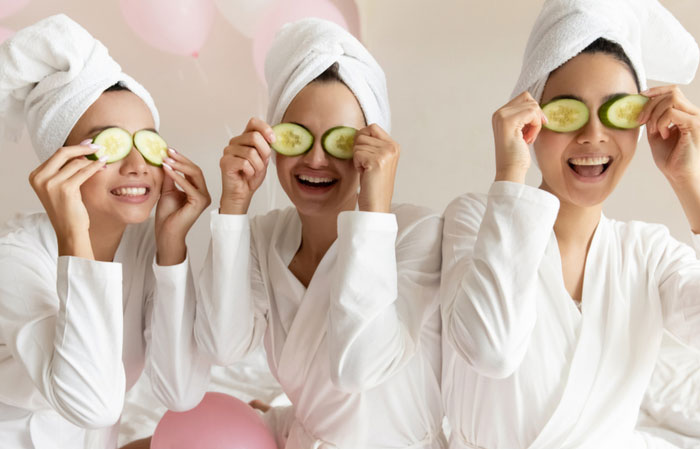 Have A Spa Night With Girlfriends