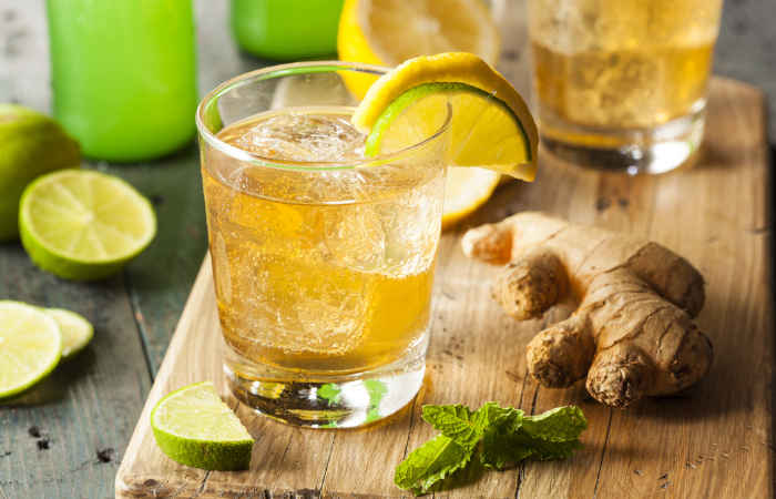 How To Prepare Ginger Ale At Home