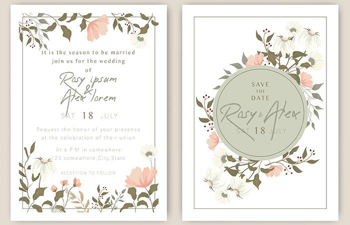 Common Wordings In Wedding Invitations