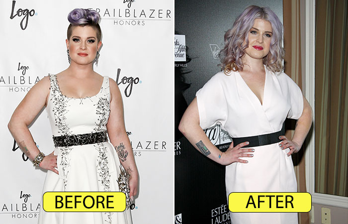 Kelly Osbourne's Transformation – Before And After Her Weight Loss