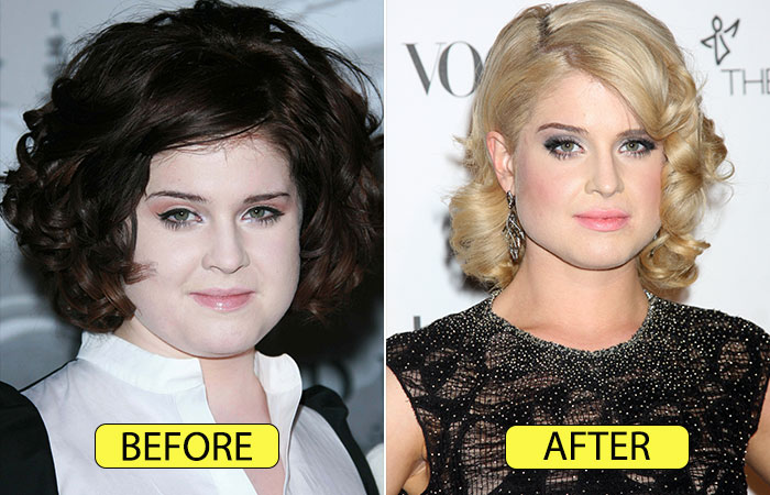 Kelly Osbourne's Transformation