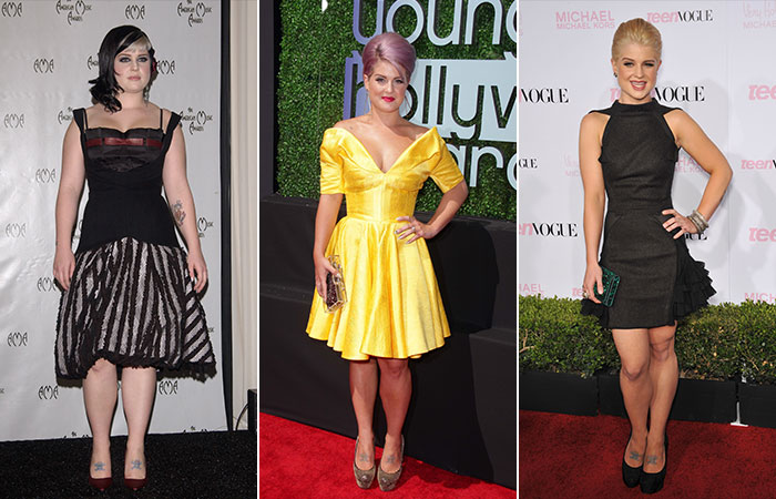 Kelly Osbourne's Weight Loss Transformation Pictures