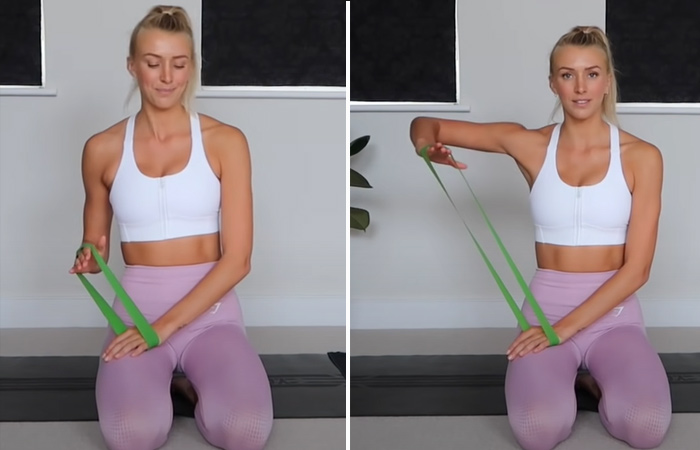 One Arm Lateral Raise
