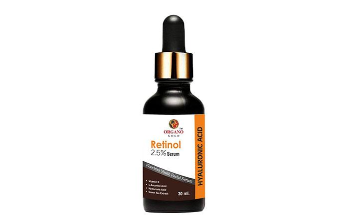 Organo Gold Retinol 2.5% Serum
