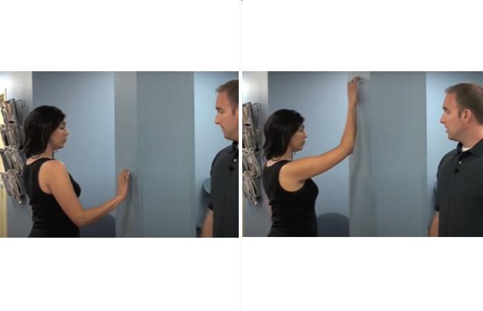 Wall Walk Stretches