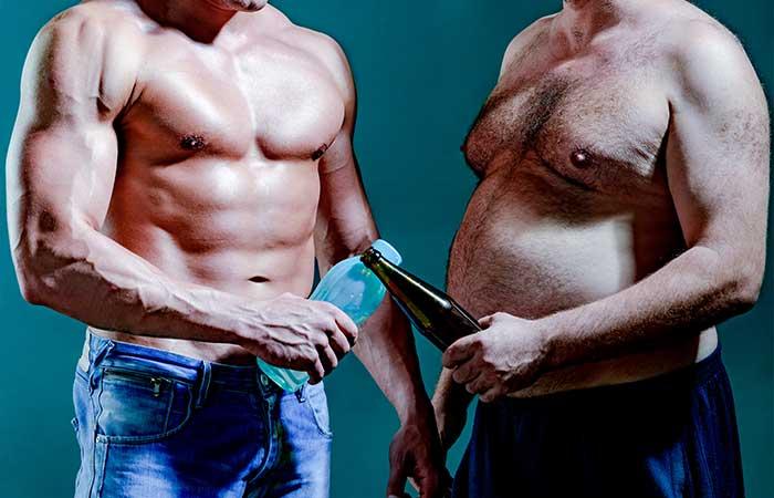 healthy-vs-unhealthy-lifestyle-fat-man