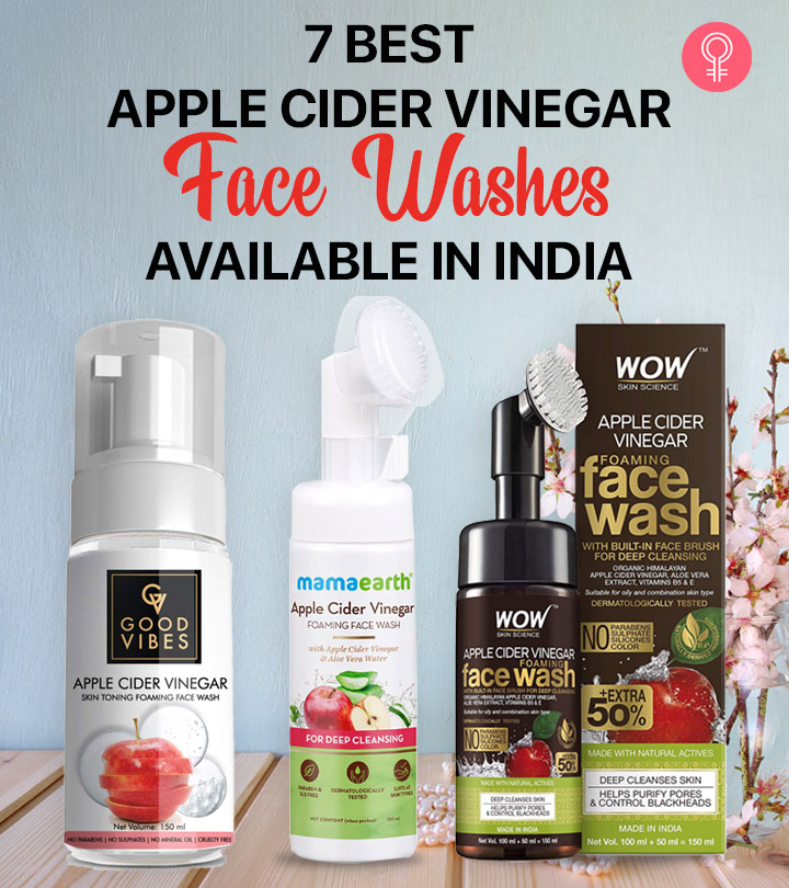 7 Best Apple Cider Vinegar Face Washes Available In India – 2021 Update
