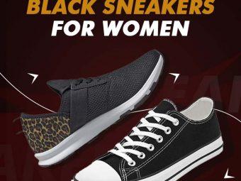 15-Best-Black-Sneakers-For-Women-In-2021
