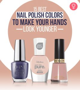 15 Best Nail Polish Colors To Make Your Hands Look Younger