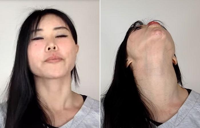 Pursed-Lips-Neck-Stretch