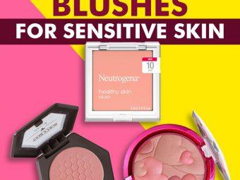 5 Best Blushes For Sensitive Skin In 2021
