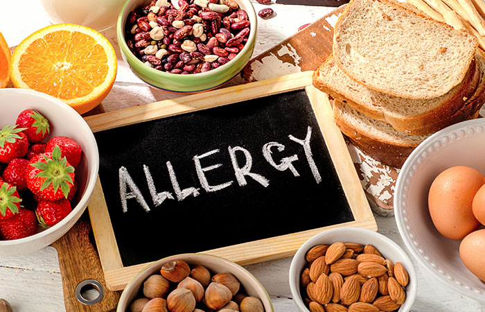 Food With Potential Allergens